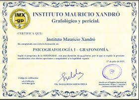 Miniatura certificado